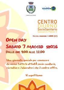 Open Day Centro Diurno Socio Sanitario di Nove 2016