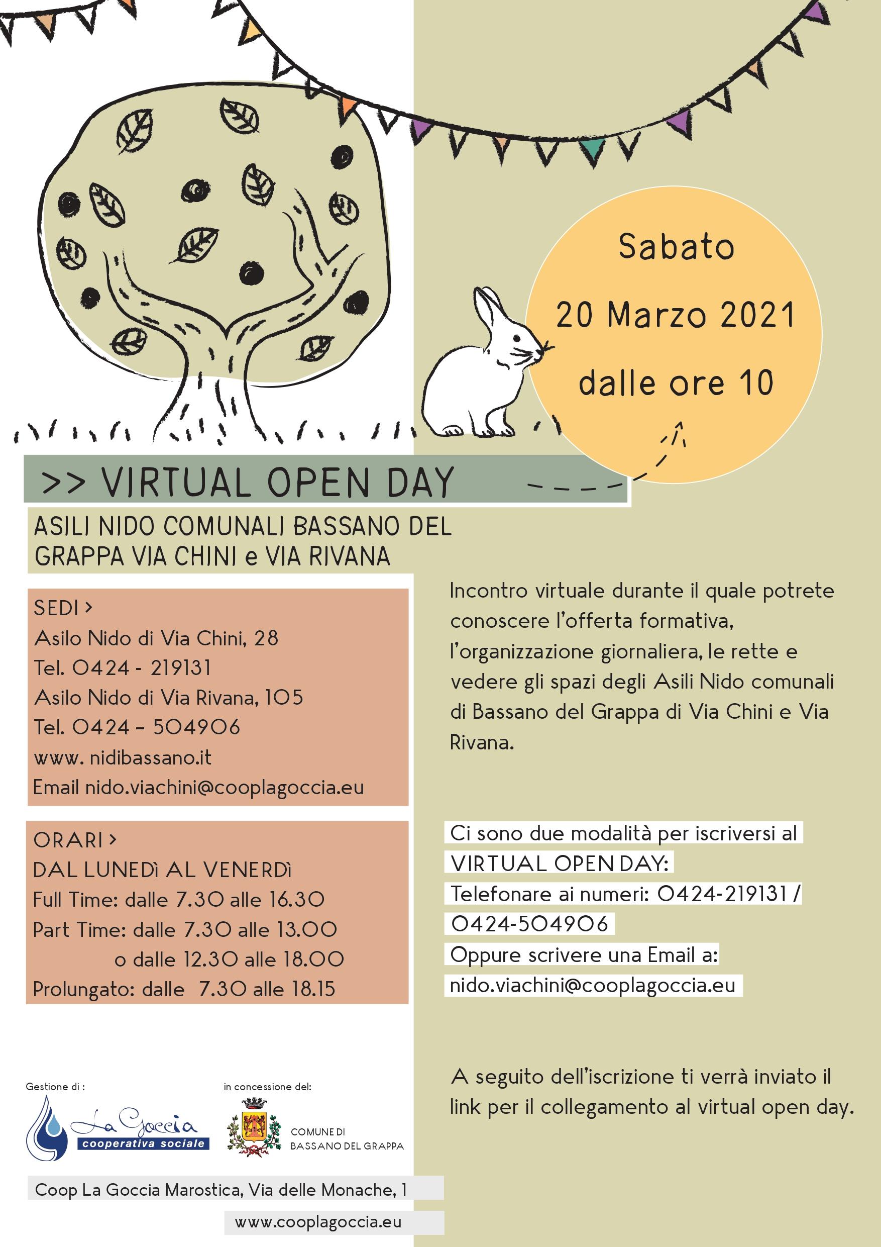 open day nidi bassano 2021