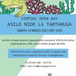 open day tartaruga 2021