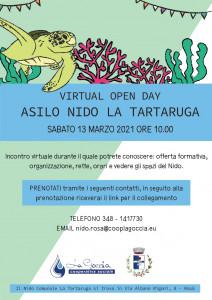 open day tartaruga 2021
